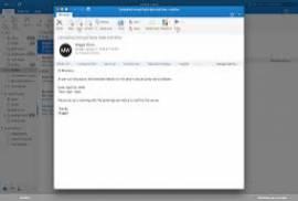 Outlook on Desktop